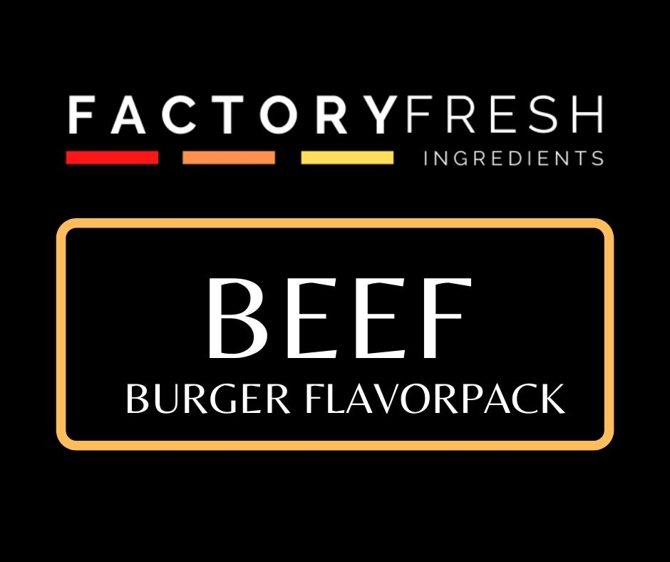 Beef Burger Pack