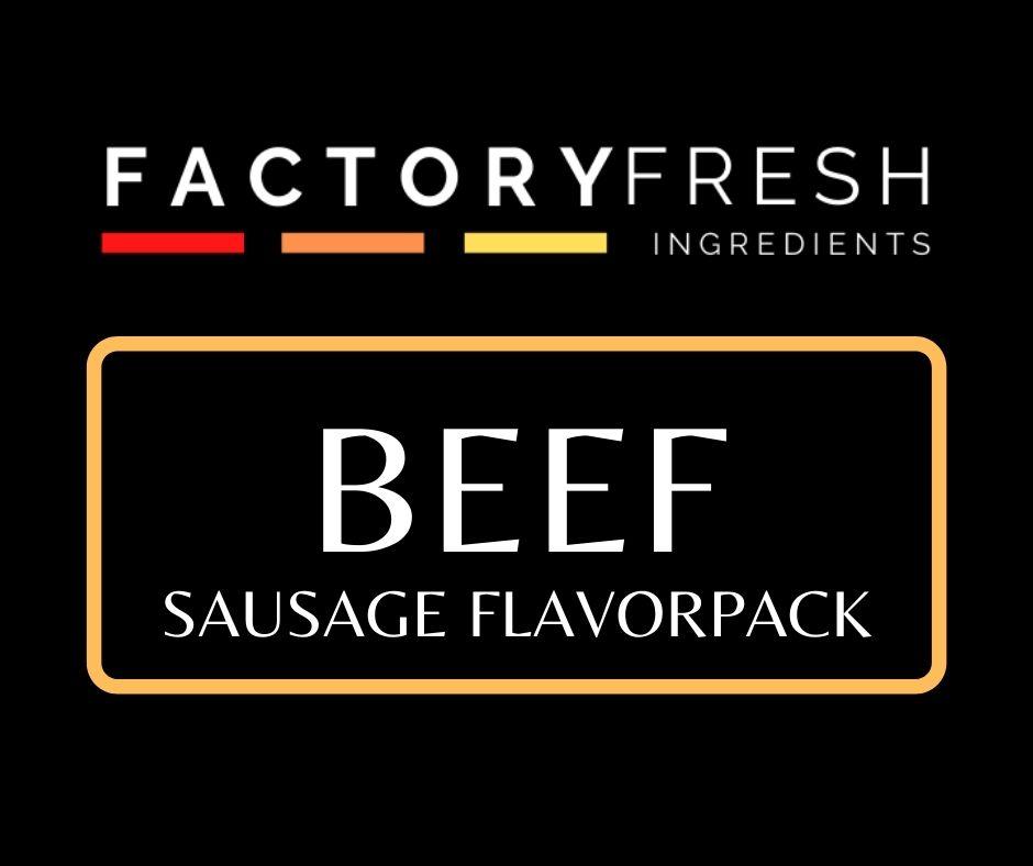 Beef Sausage Pack