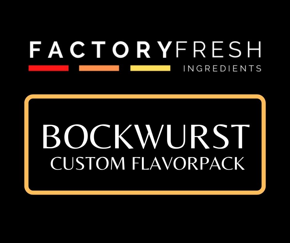 Bockwurst Custom Pack