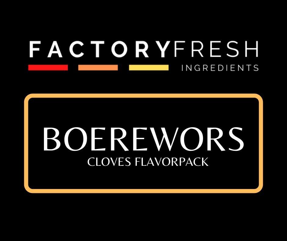 Boerewors Cloves Pack