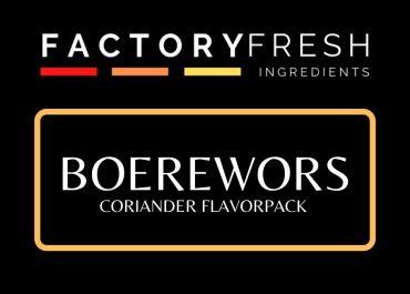 Boerewors Coriander Pack