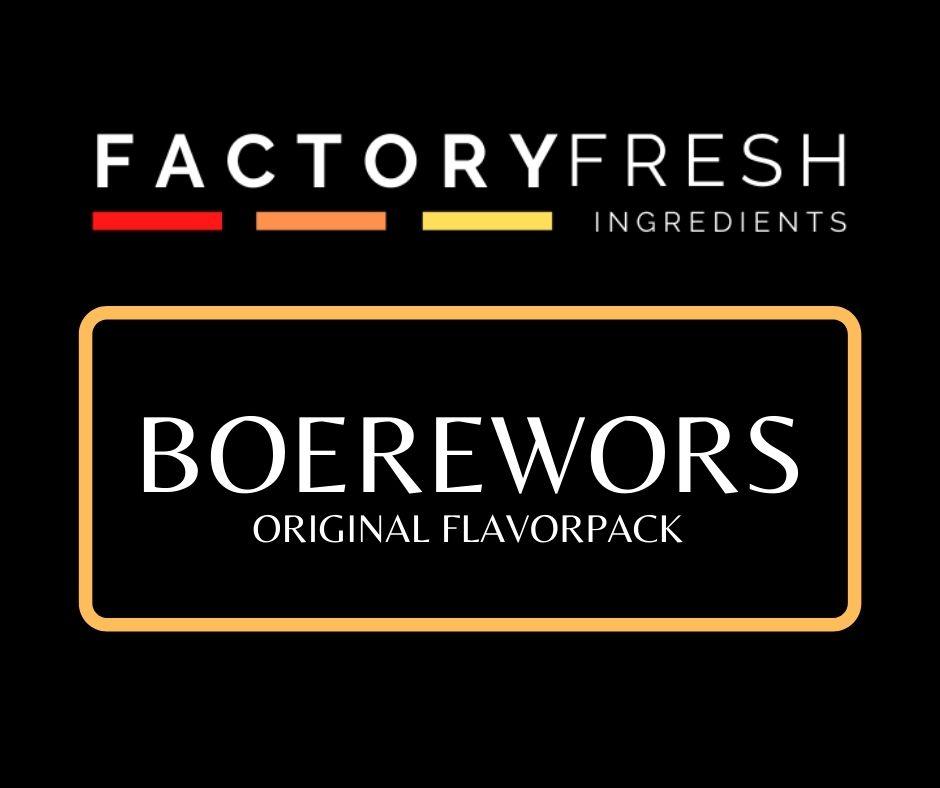 Boerewors Original Pack