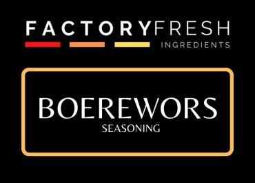 Boerewors Seasoning