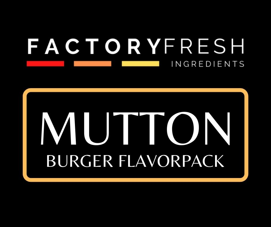 Mutton Burger Pack